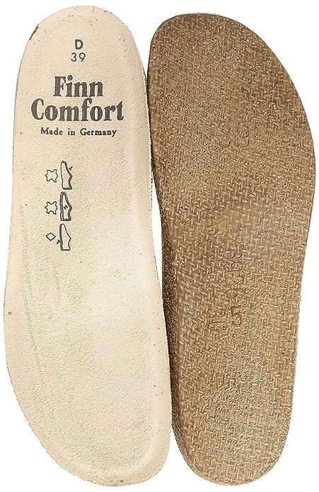 Finn Comfort Cómodo de plantilla Soft Mujer 8545, color Beige, talla 35 EU