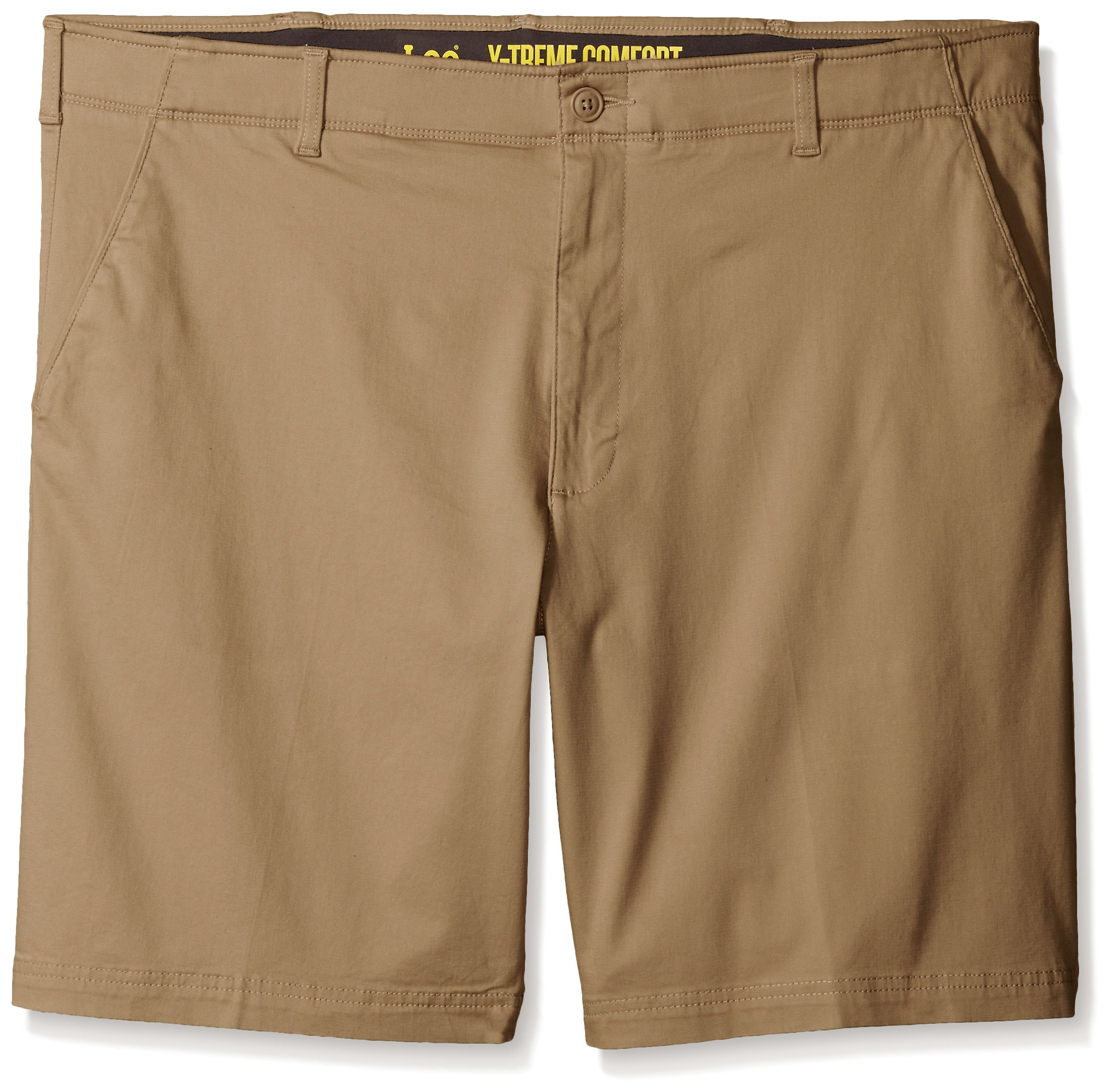 LEE Men's Big-Tall Performance Series Extreme Comfort Short, Original Khaki, 46