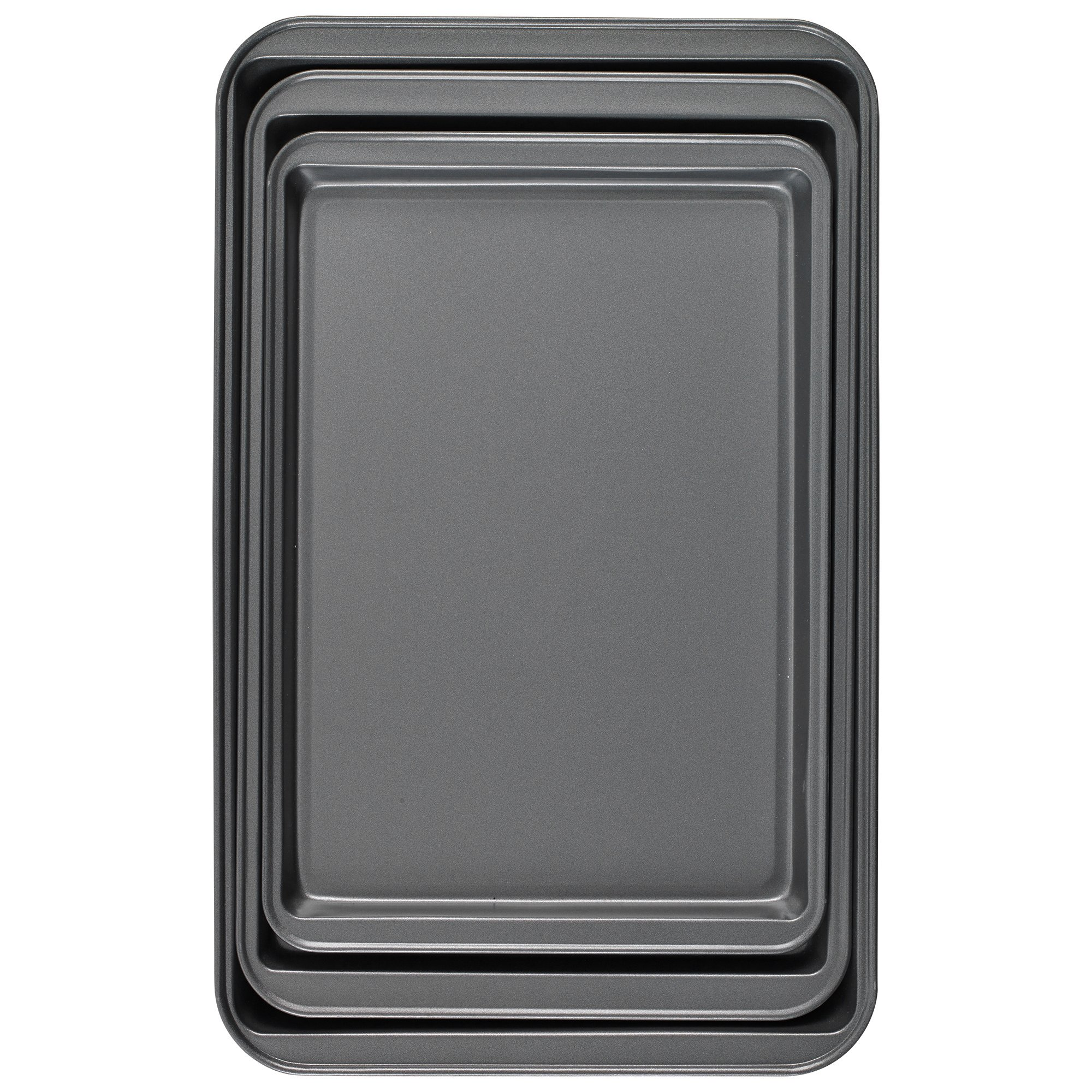 Good Cook Set Of 3 Non-Stick Cookie Sheet by Good Cook (Image #3)