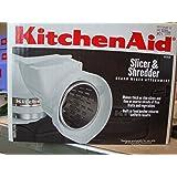 Amazon Com Kitchenaid Rvsa Slicer Amp Shredder Attachment