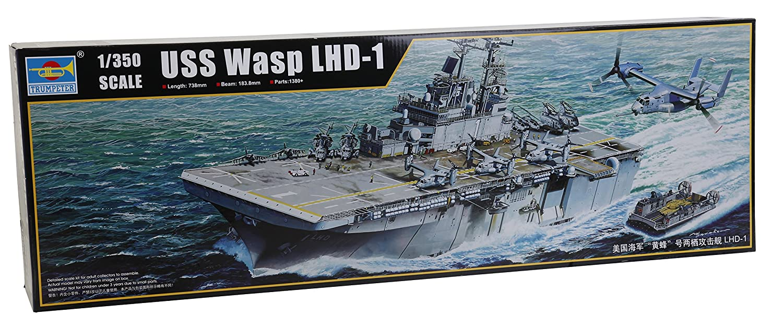 Trumpeter 05611 Modelo Kit USS Wasp LHD 1