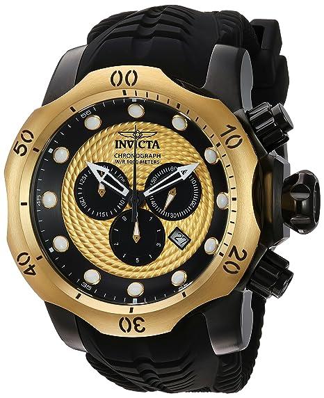 INVICTA Venom Reloj DE Hombre Cuarzo Suizo ANALÓGICO Correa DE Silicona 20444: Amazon.es: Relojes