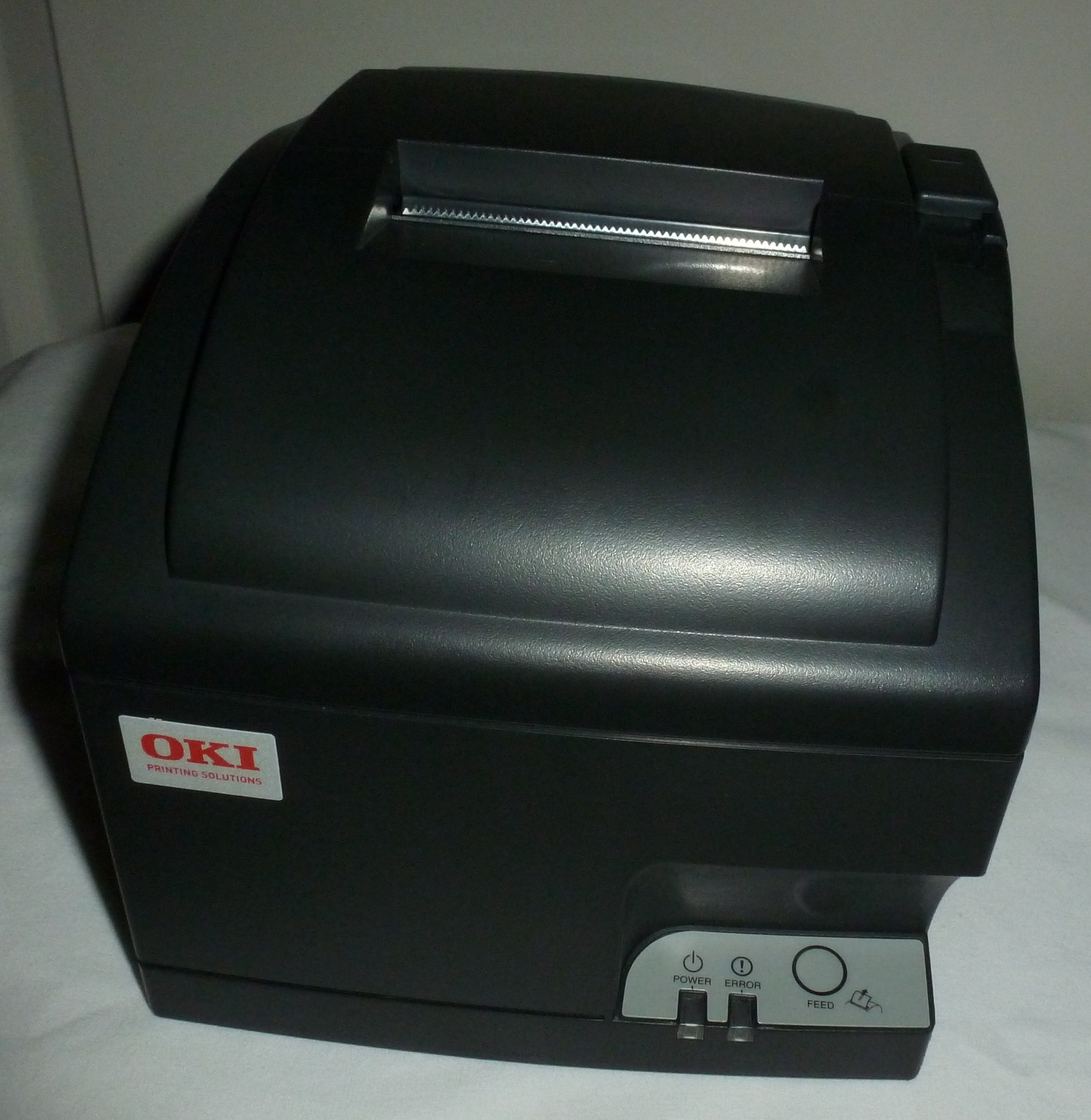OKI Data OKIpos 441 Serial 9-Pin Dot Matrix Printer, Serial Port, No Auto-cutter, Charcoal