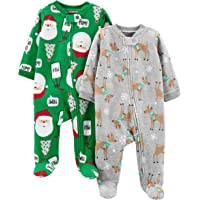 Simple Joys by Carter's Pack de 2 Calcetines de Forro Polar para Dormir y Jugar Bebé-Niñas