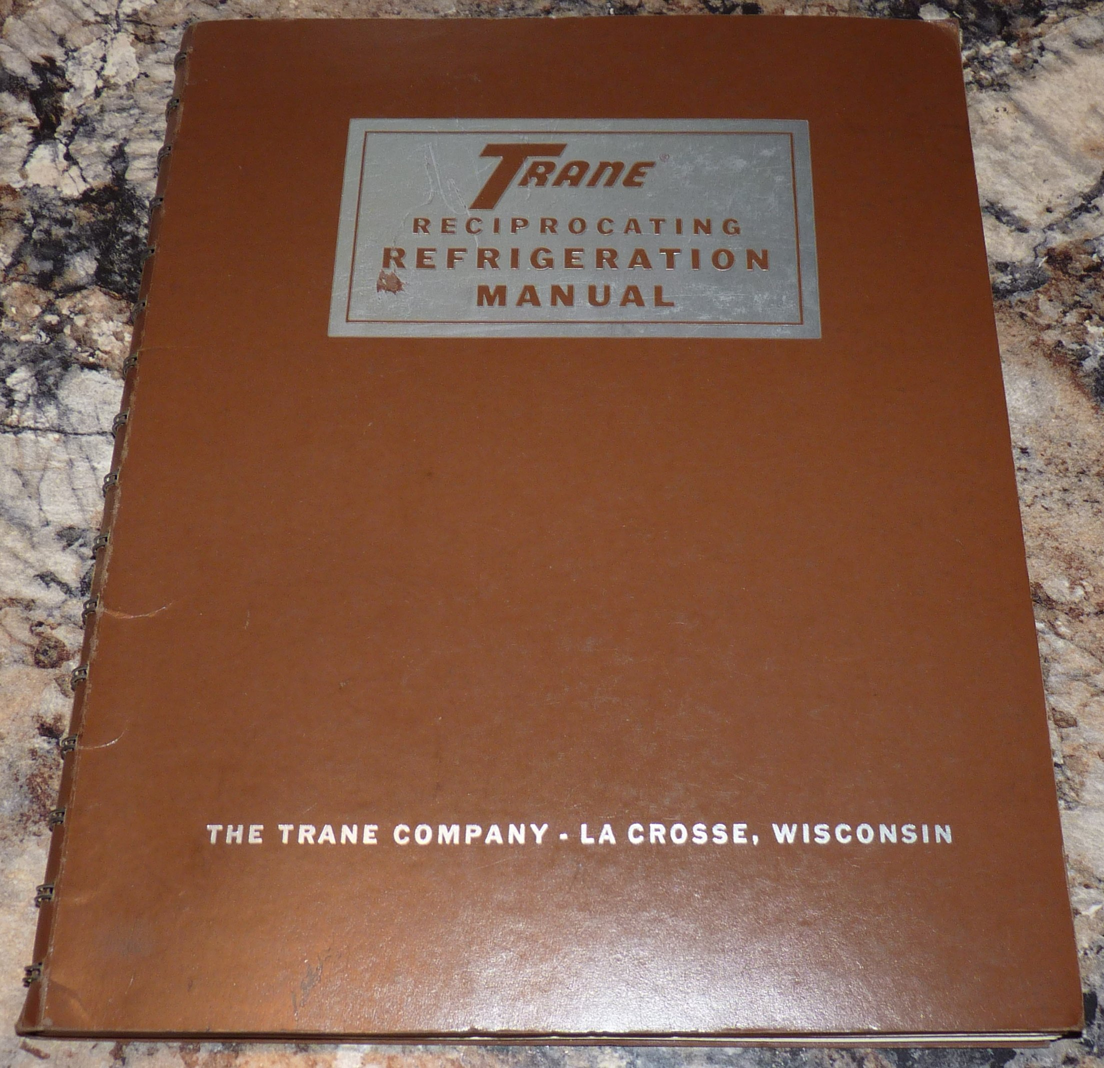 Trane Reciprocating Refrigeration Manual: Trane Company: Amazon.com: Books