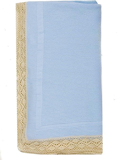Danielstore-Toquilla de lana para bebés y recién nacidos - Color azul: Amazon.es: Bebé