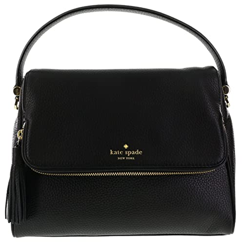 61c638057979a1 Kate Spade New York Chester Street Miri Pebbled Leather Shoulder Bag  (Black): Amazon.ca: Jewelry