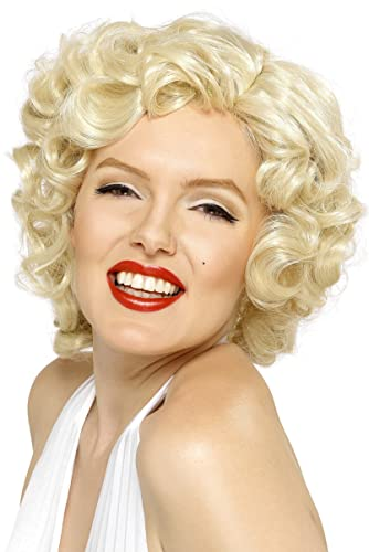 1950s Costumes- Poodle Skirts, Grease, Monroe, Pin Up, I Love Lucy Smiffys Womens Marilyn Monroe Wig $9.94 AT vintagedancer.com