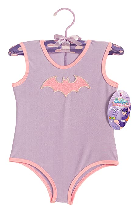 f3adf111c912 Amazon.com  My Super Best Friends Batgirl Leotard With Puff Hanger ...
