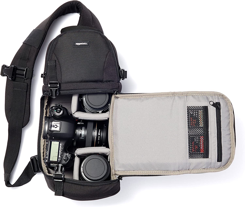 AmazonBasics - Bolso bandolera para cámara de fotos: Amazon.es ...