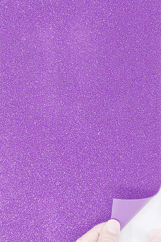 Allgala 12 Pack Glitter EVA Foam Paper 8 x 12inch Sheets-Royal-CF85004