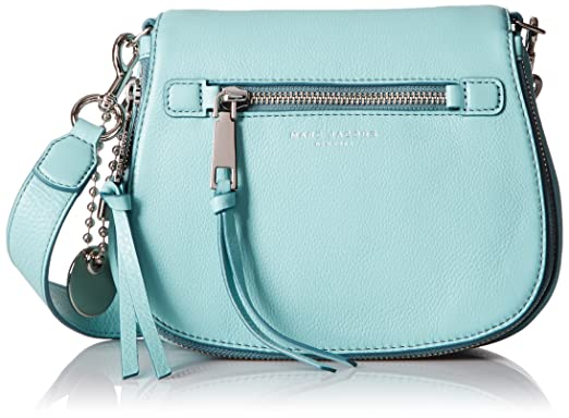 small Recruit Nomad saddle bag - Blue Marc Jacobs RUBEv
