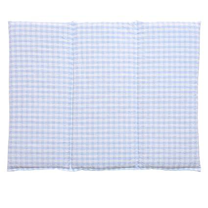 Saco térmico de semillas 40x30cm (algodón orgánico azúl claro y ...