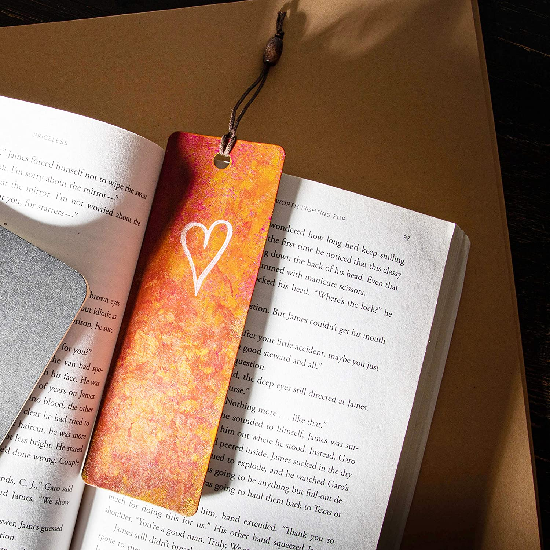 DTWAWA Lehrer Lesezeichen Lehrer Geschenk Geschenk zum Lehrertag,Geschenke f/ür Lehrer Edelstahl Schriftzug Quaste Anh/änger Lesezeichen