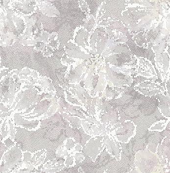 Amazon Com A Street Prints 2793 24709 Allure Floral Wallpaper Lavender Home Improvement