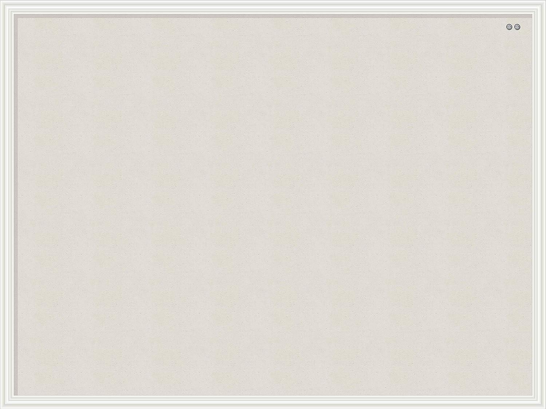 30 x 40 Inches White Wood Frame 2917U00-01 U Brands Linen Cork Linen Bulletin Board