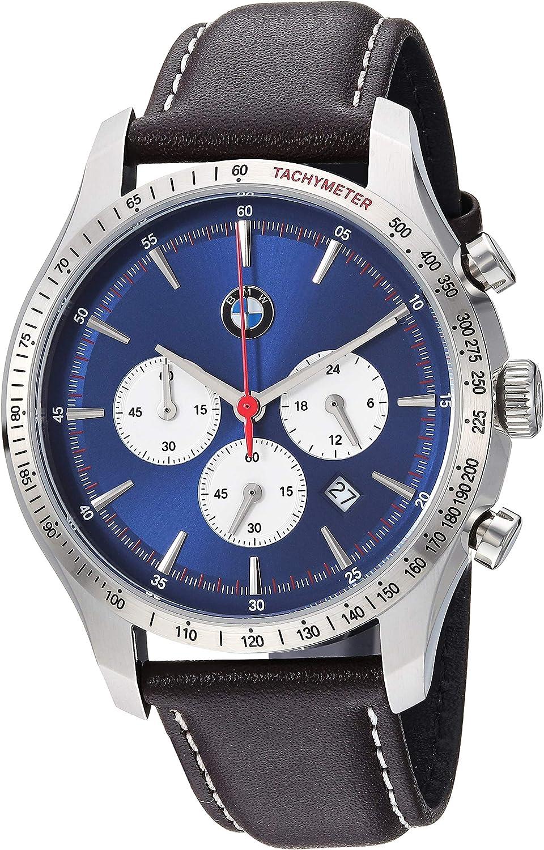 BMW Men s Chronograph Quartz Movement Watch with Date Window