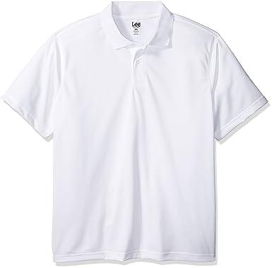 Lee Uniformes de Hombre Sport Polo - Blanco -: Amazon.es: Ropa y ...