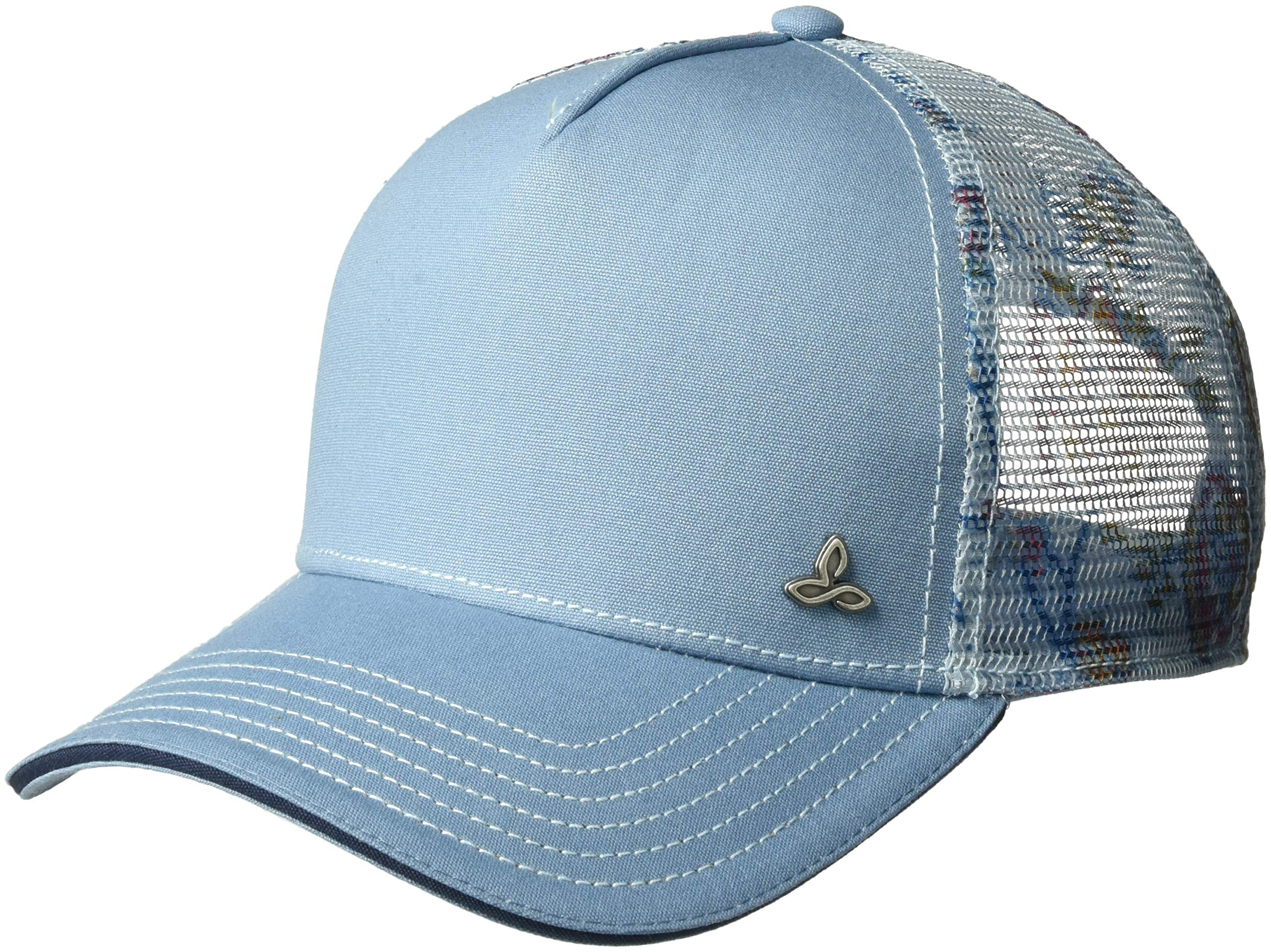 prAna Women's Idalis Trucker Cold Weather Hats, One Size, Blue Sierra