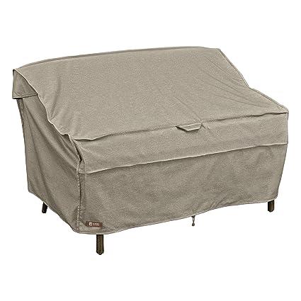 Classic Accessories MONTLAKE FADESAFE Patio Bench/Love SEAT/Sofa Cover Small