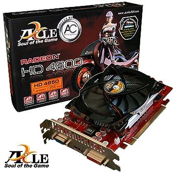 Axle ATI Radeon HD 4850 Graphics Card PCI E 1GB GDDR3 Speicher