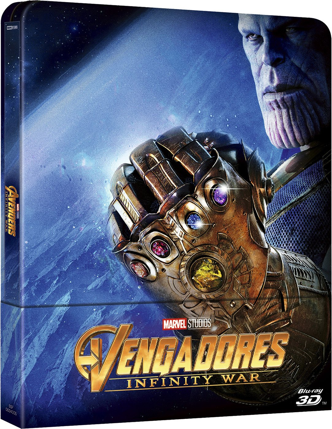 Bd 3 D Steelbook Vengadores Infinity War [Blu Ray] by Amazon