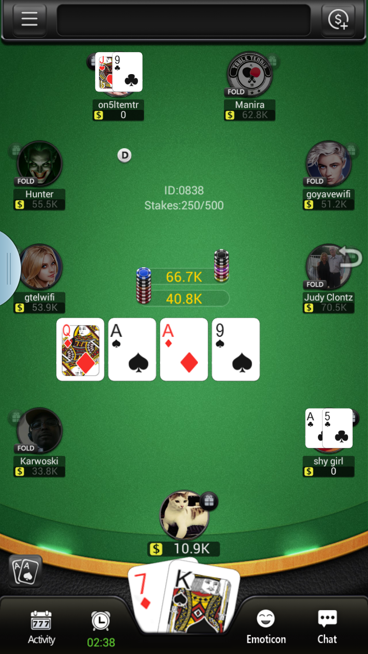 High Roller Poker (No Limit Texas Holdem)