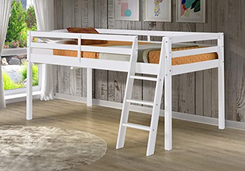 Roxy Twin Wood Junior Loft Bed