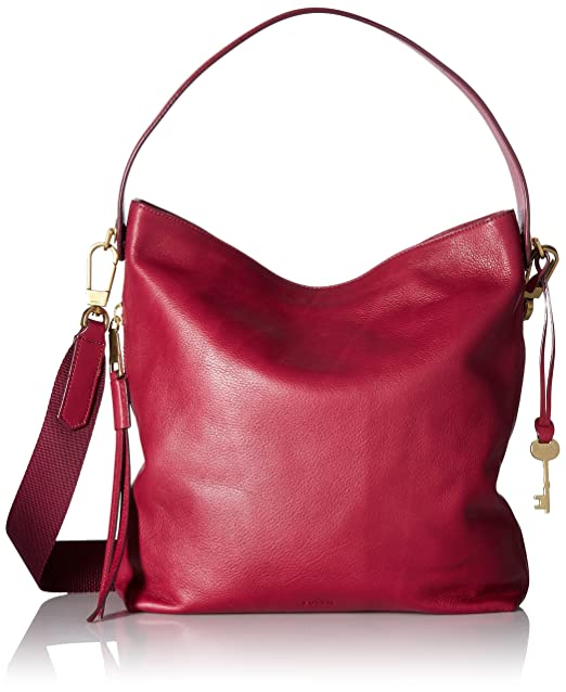 92a04ef11f Maya Small Hobo Raspberry Wine Shoulder Bag