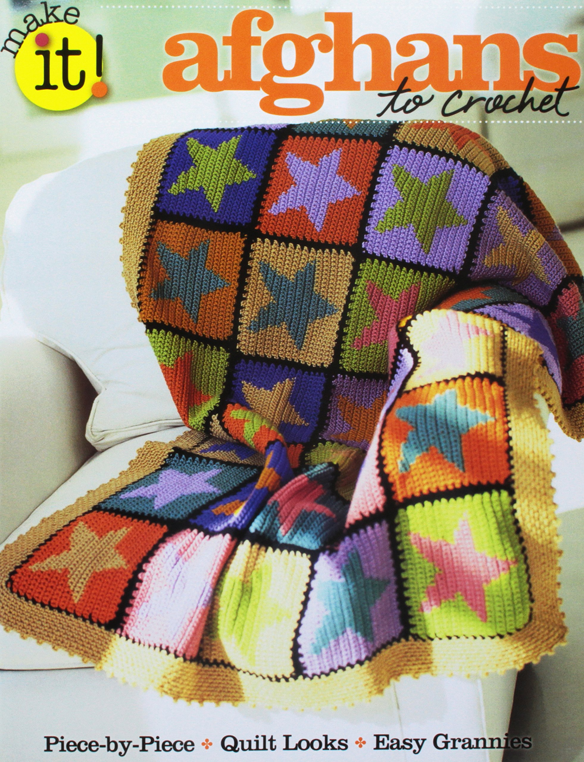 Afghans to Crochet Paperback – December 20, 2012 Editors of Go-Crafty Soho Publishing 1938867149 SO-67149