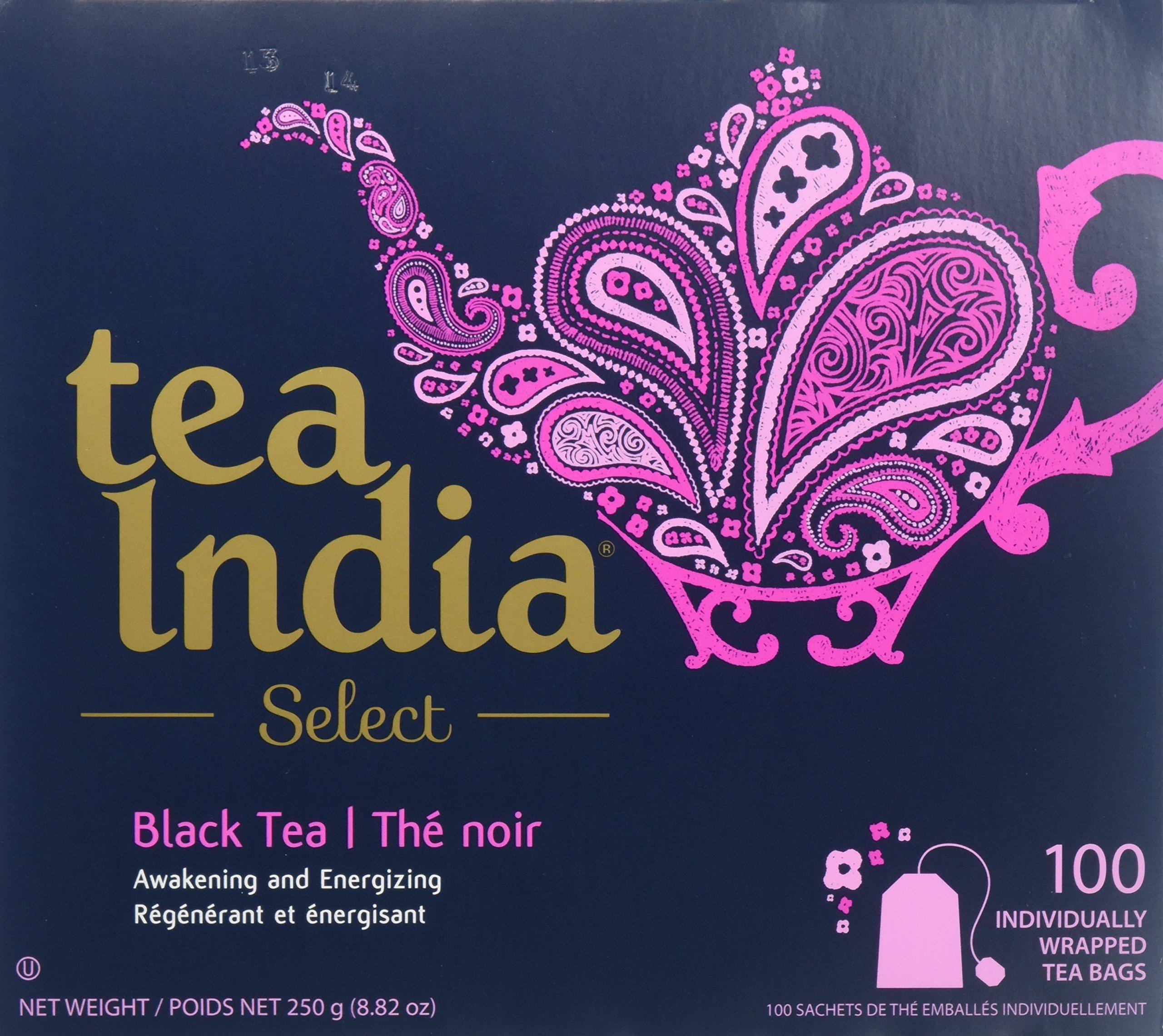 Tea India Select - Black tea - 100 tea bags