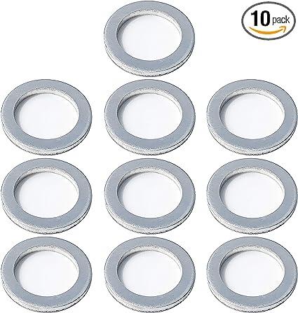 Genuine Kia Oil Pan Drain Plug Gasket Pack of 10 21513-23001