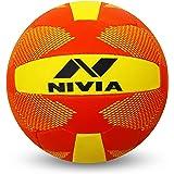 Nivia Throw Ball, Size 5 (Yellow/Red)