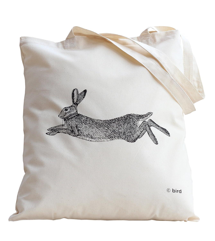 34ca08e72e6a Hare Print Tote bag  Amazon.co.uk  Luggage