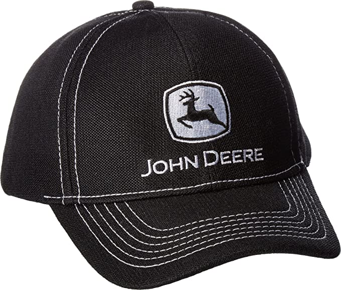 John Deere Mens Diamond Poly Mesh Embroidered Logo: Amazon.es ...