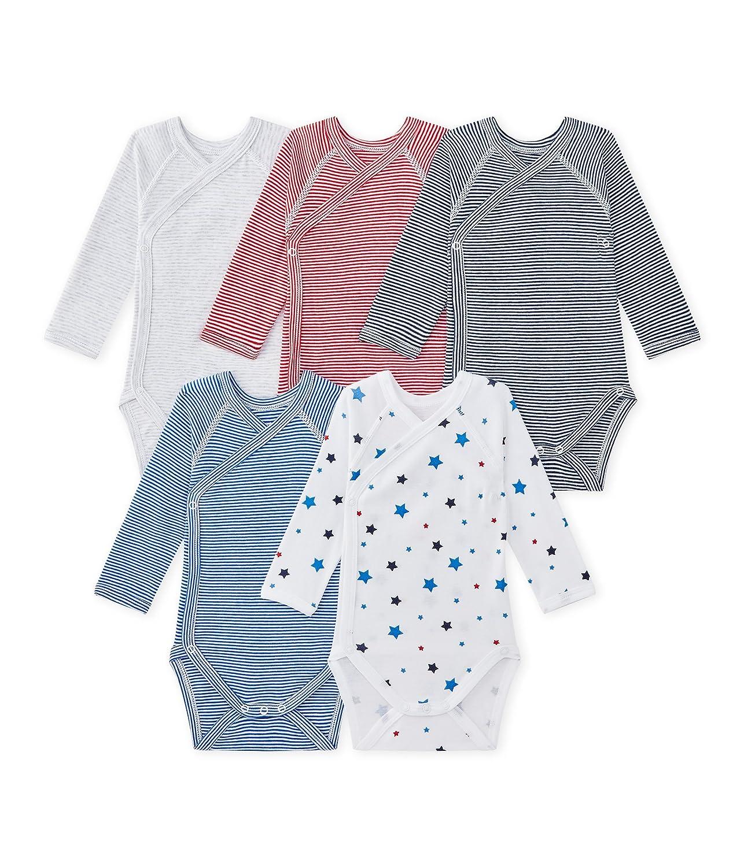 Petit Bateau Conjunto de Ropa Interior para Bebés (Pack de 5) 27615
