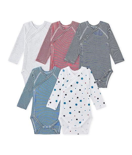 Petit Bateau X5 Nais ML G Iconicolor Abbr, Conjunto de Ropa Interior para Bebés, (Special Lot 00), 68 (Tamaño del Fabricante:6M)(Pack de 5): Amazon.es: Ropa ...