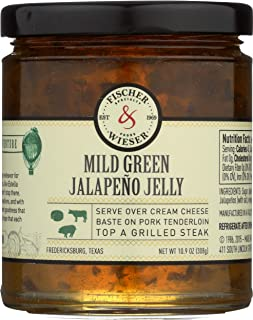 product image for Fischer & Wieser Jelly, Mld Grn Jalap, 10.90-Ounce (Pack of 3)