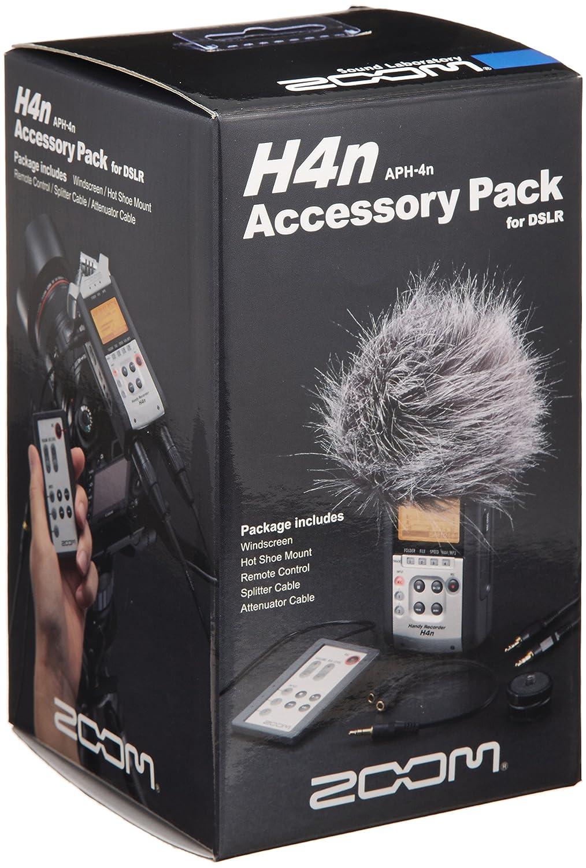 Zoom APH-4N - Pack de accesorios para grabadora de voz Zoom H4N: Amazon.es: Oficina y papelería