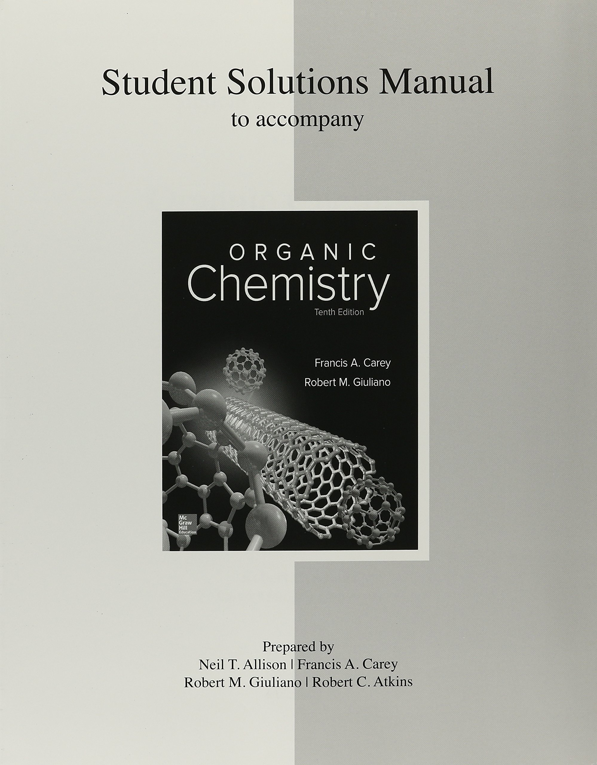 Package: Organic Chemistry with Solutions Manual: Amazon.co.uk: Francis A  Carey Dr: 9781259869204: Books