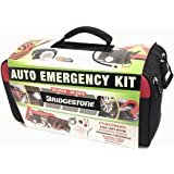 Newest package Bridgestone Auto Emergency Kit with emergency poncho blanket and more