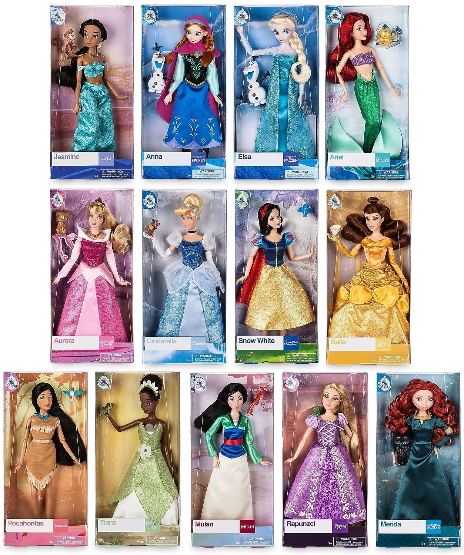 "Disney Store Brave Princess Merida Toy Doll Classic Figure 12/"" w// Ring New"