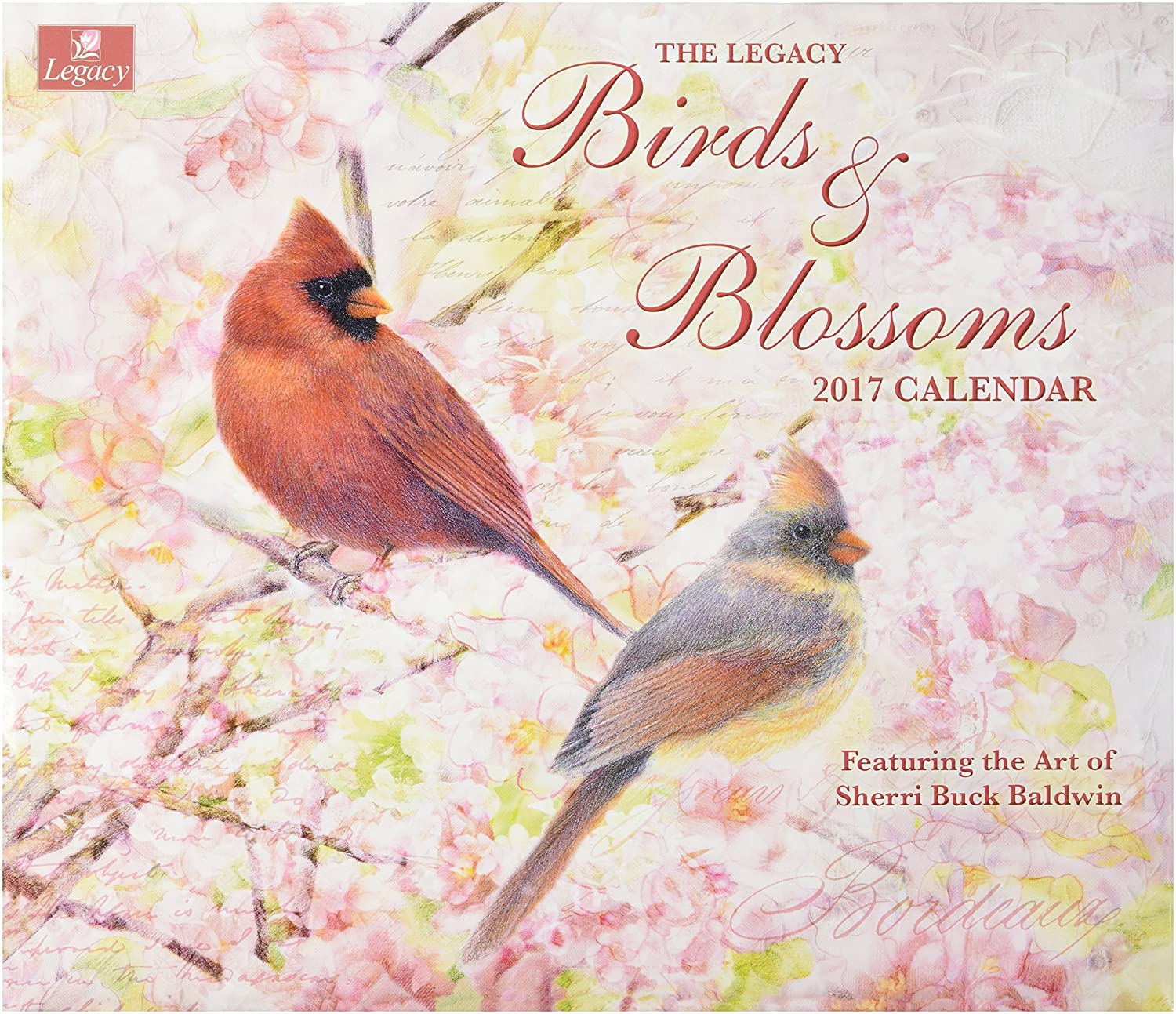 Amazon legacy publishing group 2017 wall calendar birds and amazon legacy publishing group 2017 wall calendar birds and blossoms office products kristyandbryce Image collections