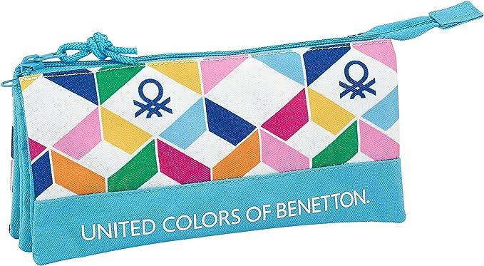 Safta Estuche Escolar Benetton