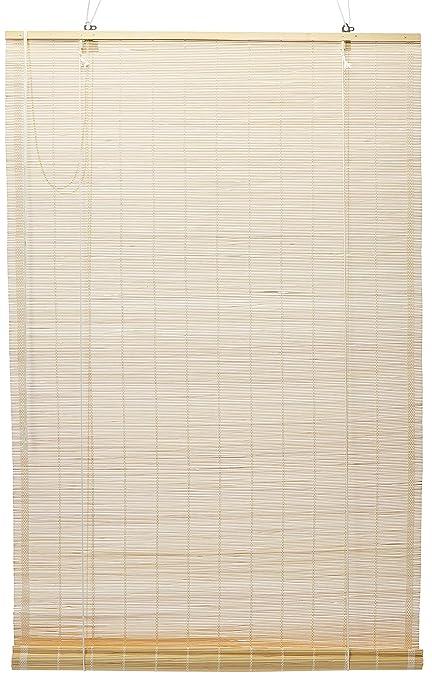 Amazon Com Oriental Furniture Matchstick Roll Up Blinds Natural