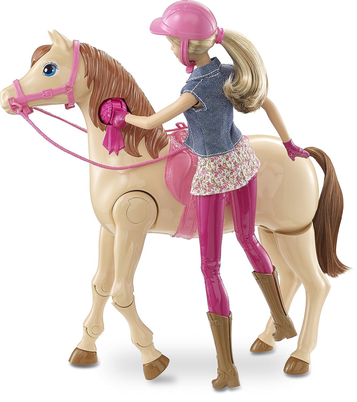Barbie Saddle n Ride Horse Amazon Toys & Games
