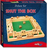 Noris Spiele 606108013 - Deluxe Shut the box, Partyspiel