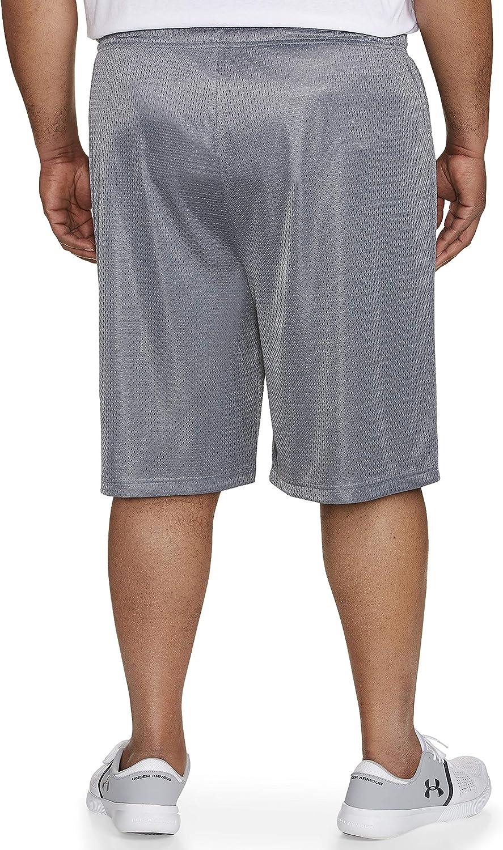 "Size XL 32/""-34/"" Waist Black Mens NHB Mesh Hole Material Shorts"