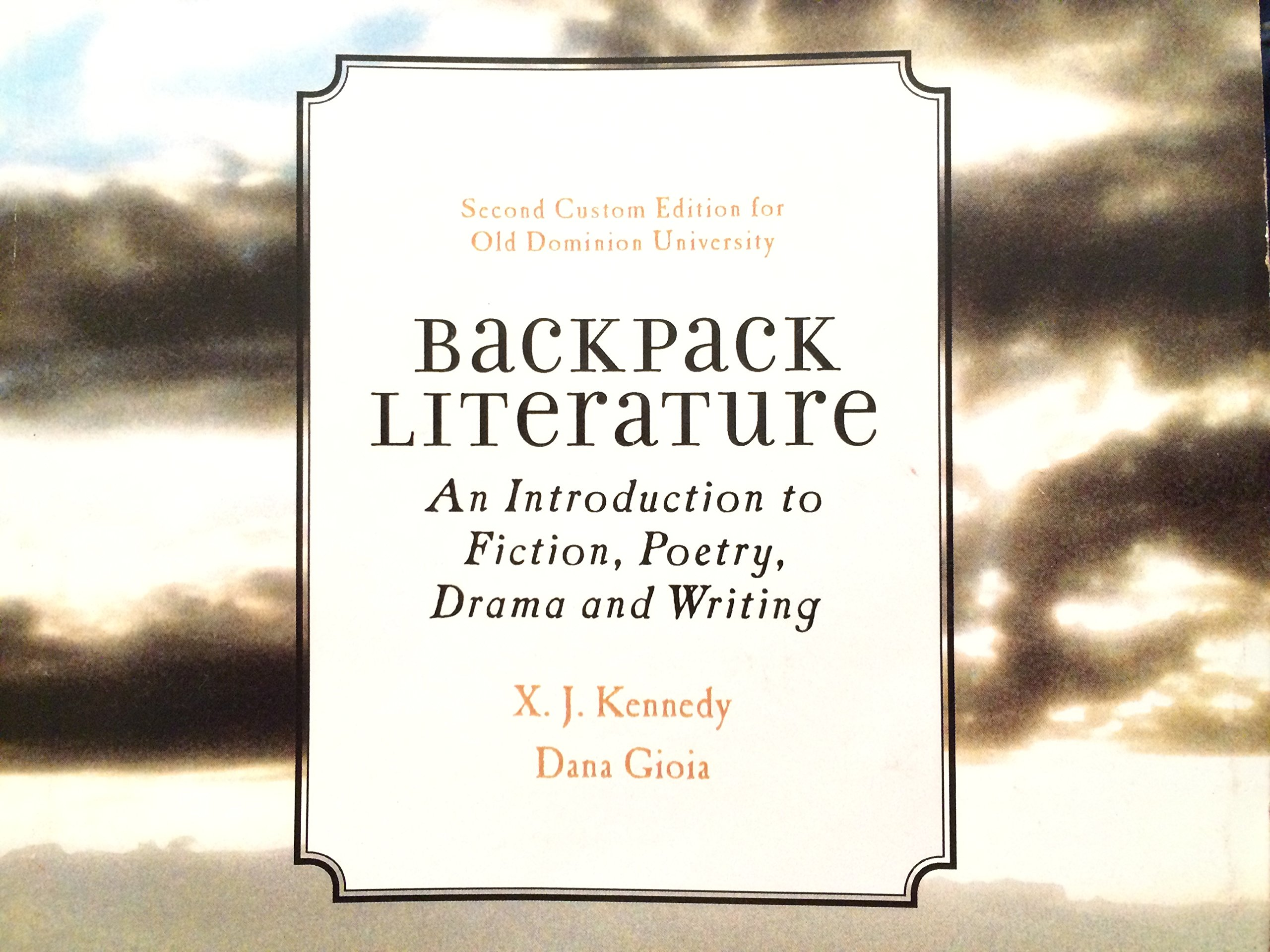 Amazon. Com: backpack literature: an introduction to fiction.