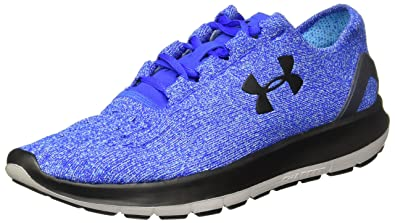 7711374713f Under Armour Mens Speedform Slingride Blue Running Shoe - 8